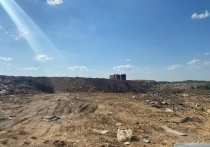 Пожар на свалке мусора под Евпаторией потушили за три дня