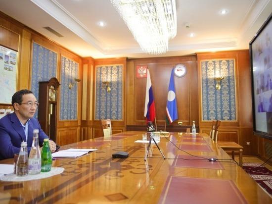 Глава Якутии поручил поменять стратегию тушения лесных пожаров в Горном улусе