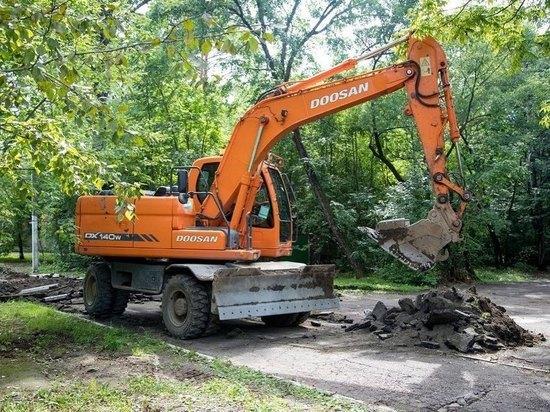 В Благовещенске приступили к масштабной реконструкции Первомайского парка