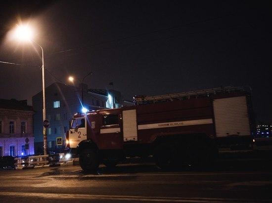 Заколдованный круг: в Астрахани в районе Мясокомбината вновь пожар