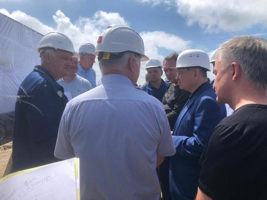 Ирек Файзуллин посетил Приамурье с рабочим визитом