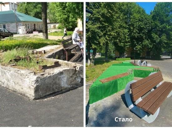 Бетонные блоки на проспекте Йошкар-Олы стали местом для отдыха