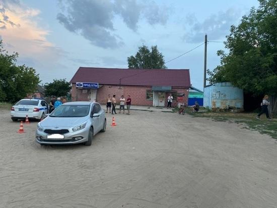 В Рязанской области пьяный водитель Kia сбил детей на детской площадке
