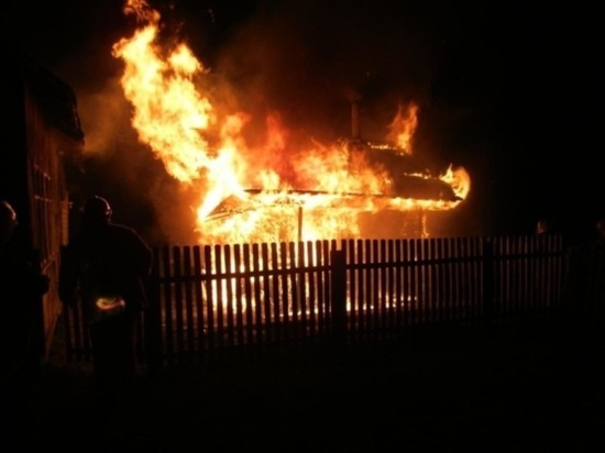 На пожаре в Новом Торъяле пострадали люди