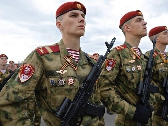 Более 80 курских призывников пополнили ряды Росгвардии