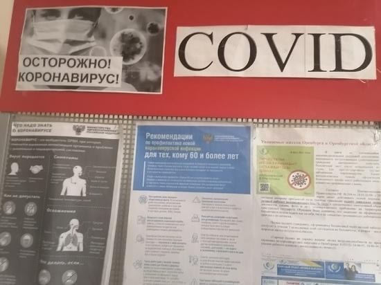 В Оренбуржье зарегистрировано 293 новых случая covid-19 за сутки