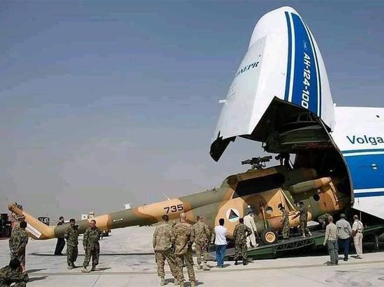 Афганистан получил от США партию российских вертолётов