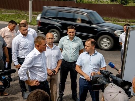Роман Старовойт с рабочей поездкой посетил Льгов