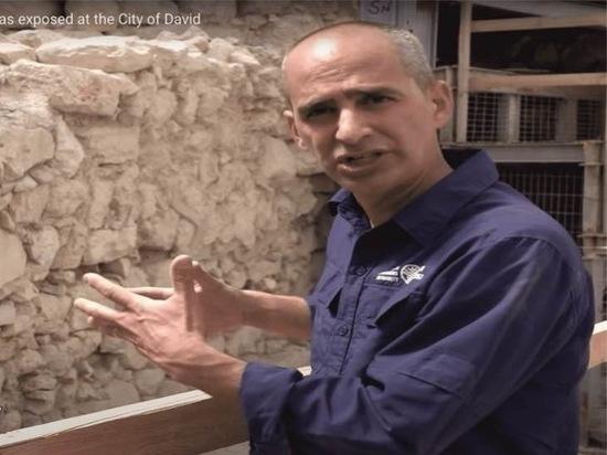 В Иерусалиме нашли стену времен Первого Храма