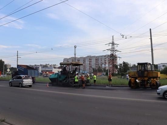 В Курске «Квадра» восстановила дорогу и тротуары на улице 50 лет Октября