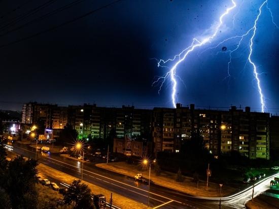 Дожди и грозы придут в Курский регион 21 и 22 июля