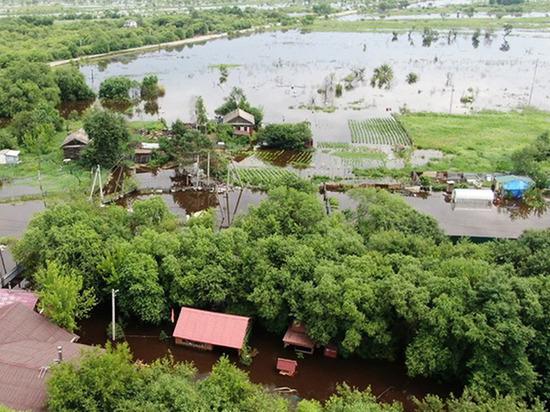В Приамурье вновь подтоплены три дома из-за сильных дождей