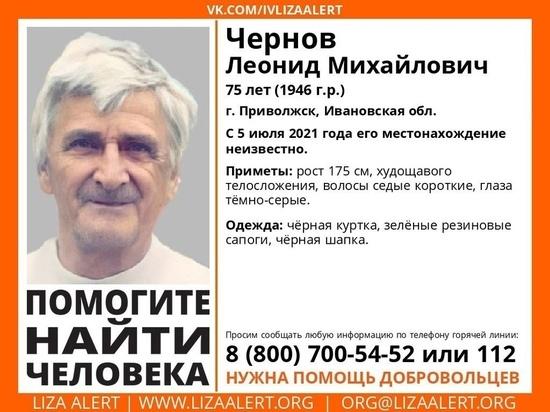 В Ивановской области уже полмесяца не могут найти мужчину