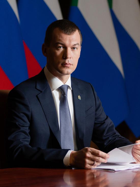На сайте «МК в Хабаровске» можно будет посмотреть прямую линию Михаила Дегтярева