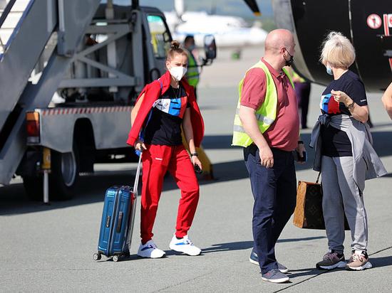 Девять олимпийских сборных отправились из Приморья в Токио