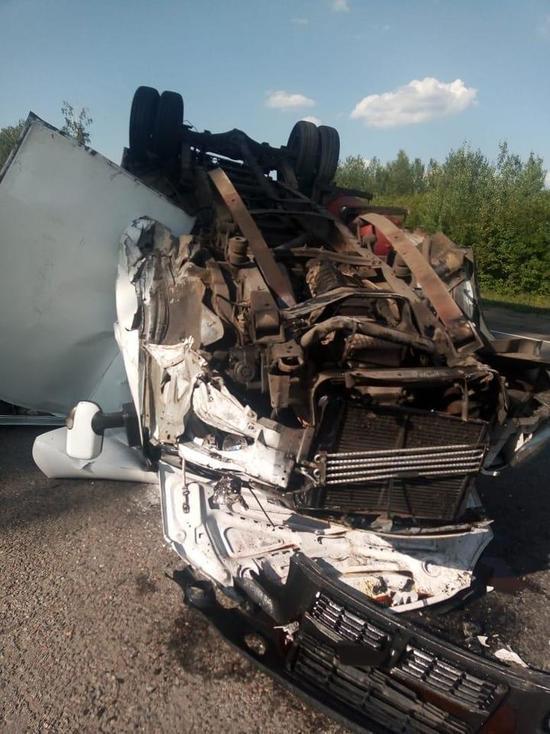 В Притамбовье столкнулись легковушка и Газель: пострадал один человек