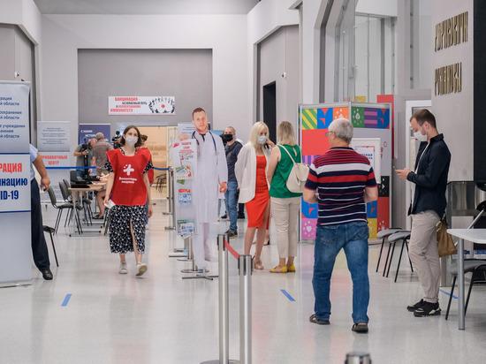 В Волгограде открылся самый большой мобильный центр вакцинации