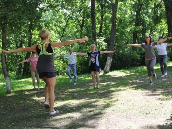 Сотрудники спорткомплекса «Юность» в Благовещенске практикуют производственную гимнастику и сдают нормы ГТО
