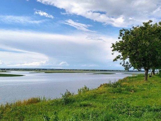 Вскоре достроят временный мост через реку Степной Зай в Татарстане