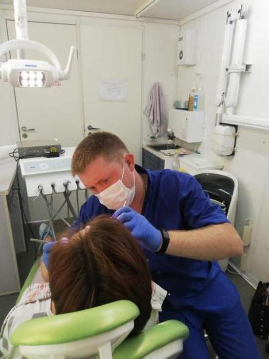 В Тамбовской области работает передвижной стоматологический комплекс
