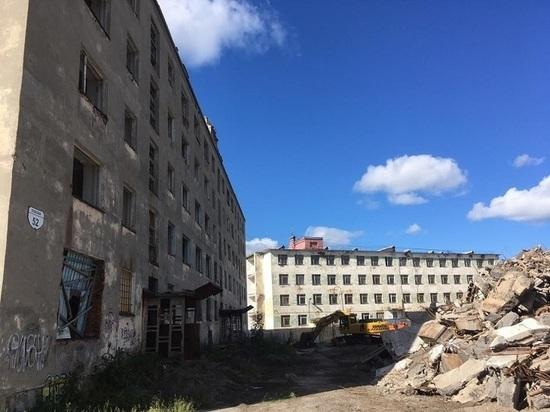 В Мурманской области снесено пять аварийных домов