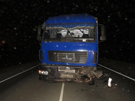 На трассе Оренбург-Самара погиб водитель