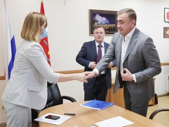 Алексей Дюмин подал документы на участие в выборах губернатора Тульской области