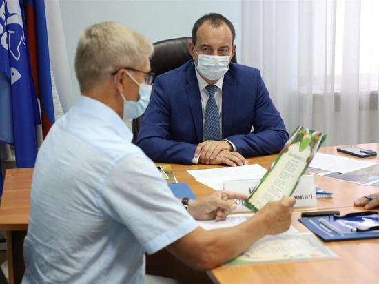 Юрий Бурлачко выслушал вопросы, проблемы и предложения краснодарцев