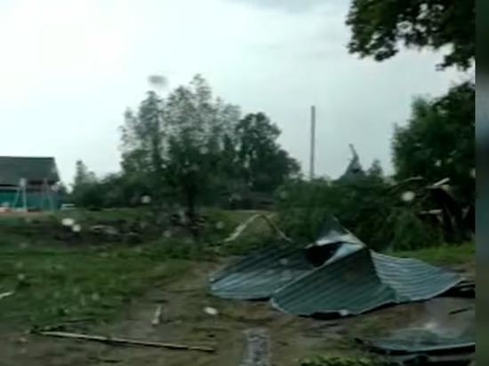 По Звениговскому району Марий Эл прошел ураган