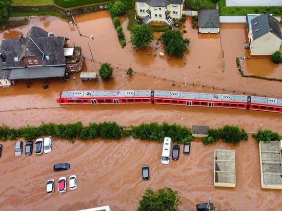 Германия: На пострадавшие регионы надвигается новая беда
