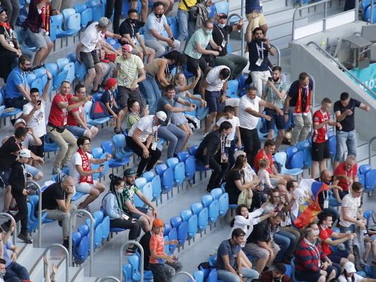 Суд в Петербурге оштрафовал финского болельщика за брошенный во время матча стаканчик с пивом
