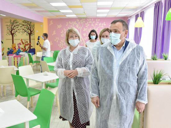Глава Марий Эл осмотрел отремонтированный дом-интернат «Солнышко»