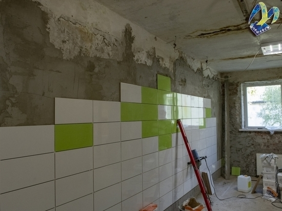 В Мурманске продолжается обновление школы №27