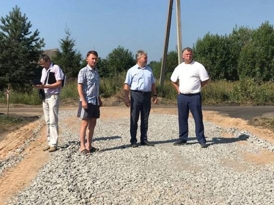 Костромская авиация: в городе Буй идет строительство вертолетной площадки