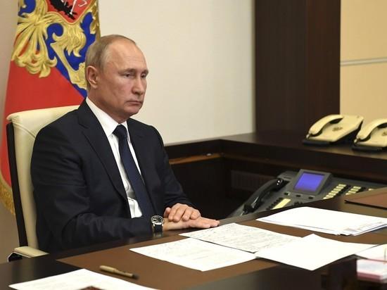 Путин поручил подготовить поручения по борьбе с лесными пожарами