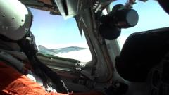 Минобороны показало видео совместного полета МиГ-31 и F-16 ВВС Норвегии