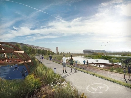 Казанцев приглашают на беговую экскурсию по будущему Спортивному парку