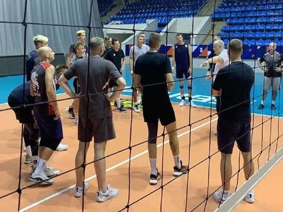 Волейболисты «Белогорья» начали подготовку к новому сезону