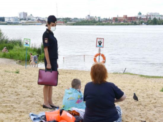 В Йошкар-Оле полиция проверяет пляжи и популярные для купания водоемы