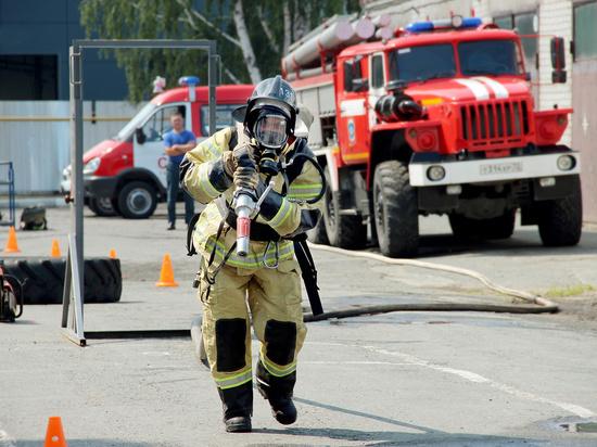 В Тюмени назвали имена лучшего пожарного и начальника караула