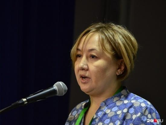 Мадам Тюкина с недавнего времени успела прославиться в Архангельской области и за её пределами не вполне адекватными заявлениями.