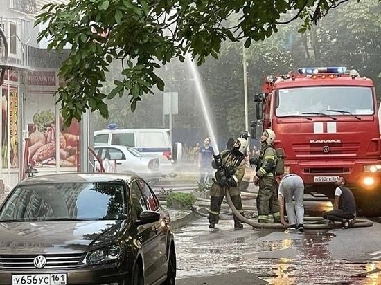 В Ростове 30 жителей спасли из горящего дома