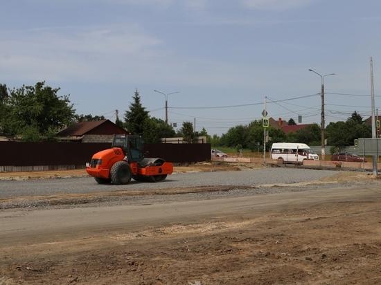 В Курске продлён на месяц срок реконструкции улицы Бойцов 9-й дивизии
