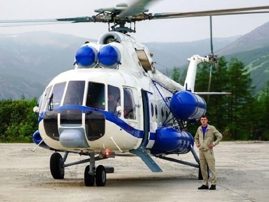 Новый вертолёт для труднодоступных районов появился на Колыме