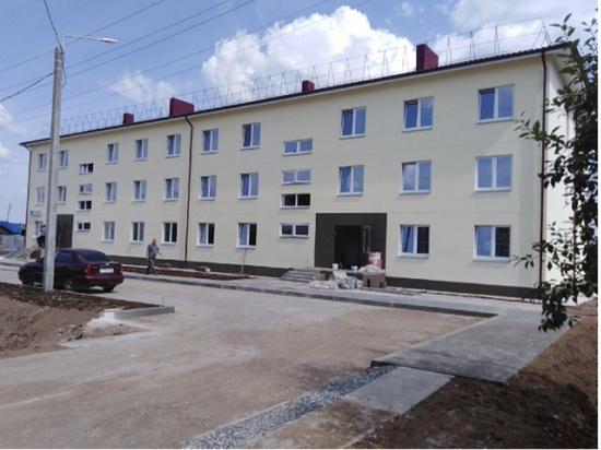 В Кировской области достроили дом для переселения из аварийного жилья