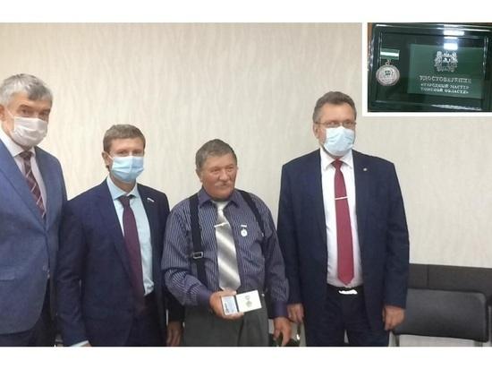 Губернатор восхитился томским берестянщиком и присвоил звание «Народный мастер области»