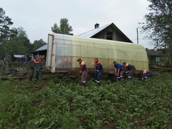 В Верхнебуреинском районе просушили более 30 пострадавших от паводка домов
