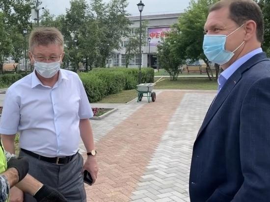 Мэр Улан-Удэ проверил скверы города