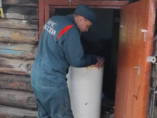 Часть домов в Заречном Нерчинского района освободились от воды
