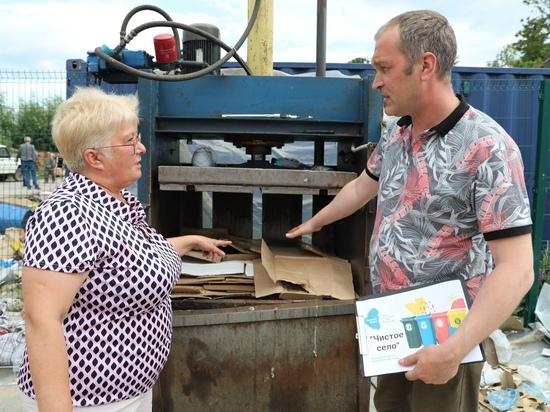 Точки раздельного сбора мусора и горка-парк могут появиться в селе Мужи